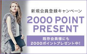 【6/30 9:59まで】2000ポイントプレゼント!
